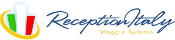 logo Reception Italy - travel booking hotels